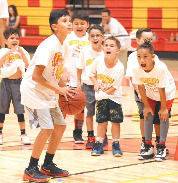 NMJC finishes youth basketball camp